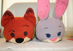 "Zootopia Medium Tsum Tsum Nick Wilde And Judy Hopps Pair - #Disney Collection 11"" from $37.95"