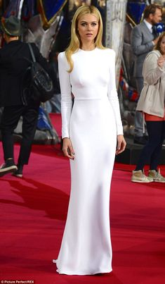 Cool blonde: The 5ft 6in star, seen last June, has been determined to be an actress since ...