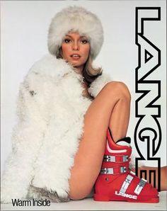 1970's Lange Ad by Roy Toma . David Goetz . Dave Rosenburg and Pamela Hoff.Brinkman   via  Toma and Associates in their Publication SportAmerica