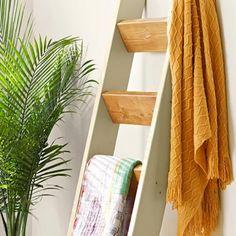 Подставка для полотенец «Лестница» своими руками