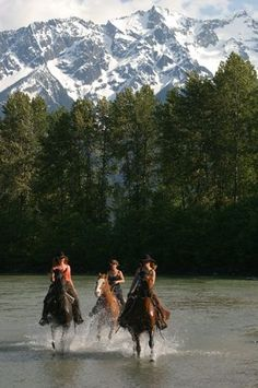 whistler horseback riding...repinned with thanks by DressageWaikato.co.nz....