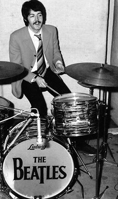 "This is who John was talking about when he said after being asked if Ringo was the best drummer in the world ""In the world?! He's not even the best drummer in The Beatles"""