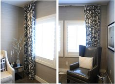 6th Street Design School | Kirsten Krason Interiors : How to Use Window Treatments with Plantation Shutters