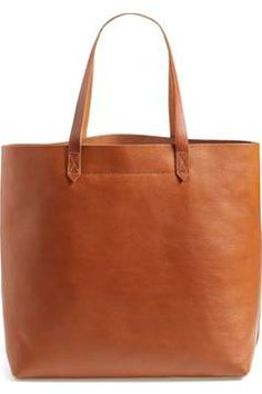 Alternate Image 1 - Madewell 'The Transport' Leather Tote