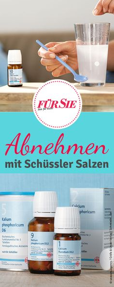 Diese vier Schüssler Salze helfen beim Abnehmen, indem sie den Stoffwechsel lan… These four Schuessler salts help you lose weight by boosting your metabolism in the long term. This way the unpleasant yo-yo effect after a diet can be avoided! Quick Weight Loss Tips, Weight Loss Help, How To Lose Weight Fast, Reduce Weight, Dieta Fitness, Fitness Diet, Health Fitness, Le Diner, Fat Loss Diet