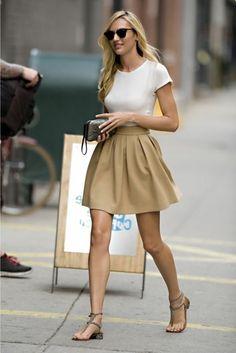 jupe évasée élégante - minspri http://minspri-paris.com/fr/jupes-shorts/303-jupe-evasee-taille-haute.html