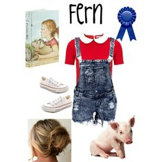 """""""Teacher"""" Friendly Halloween Costumes for Halloween/Character Parades """"Fern"""" from Charlotte's Web"""