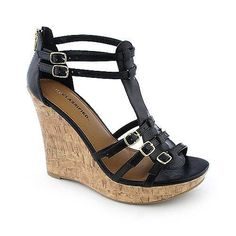 Classified  #shoes #wedge #sandals  $11