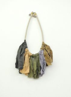 AIR Natural Dyed Necklace