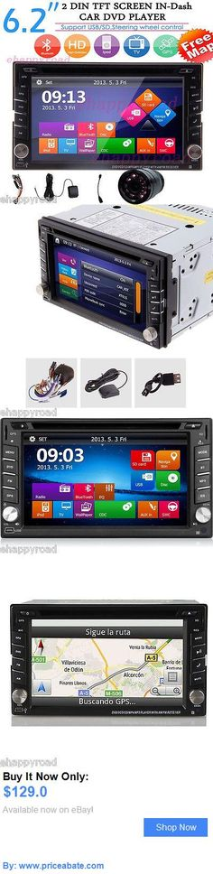 Vehicle Electronics And GPS: Gps Navigation Hd Double 2Din Car Stereo Dvd Player Bluetooth Ipod Mp3 Fm Camera BUY IT NOW ONLY: $129.0 #priceabateVehicleElectronicsAndGPS OR #priceabate