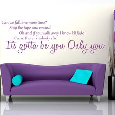 Spartacus Art - Wall Stickers / Decals / Transfers - One Direction Gotta Be You Lyrics Wall Sticker, £16.99 (http://www.spartacusart.co.uk/one-direction-gotta-be-you-lyrics-wall-sticker/)