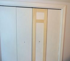 master bedroom closet face lift