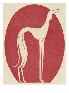 fantasy greyhound, 1928. thank you, j