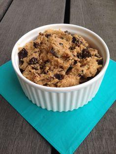 Vegan chickpea cookie dough – Wat eet je dan wel?
