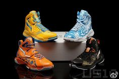 Li-Ning Turningpoint, Villain, and Hero Year Of The Dragon Pack.