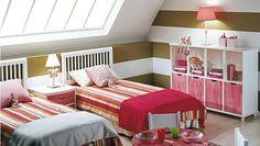 Ideas para decorar un dormitorio infantil abuhardillado