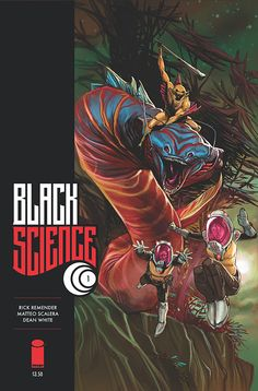 Black Science 1. Cover by Dean White.
