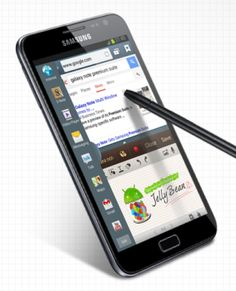 Original Samsung Galaxy Note getting Jelly Bean with Premium Suite