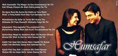 Humsafar Shayari Status For Whatsapp Shyari Quotes, Gemini Quotes, Diary Quotes, Song Lyric Quotes, Rumi Quotes, Hindi Quotes, Just Lyrics, Cool Lyrics, Pakistani Songs