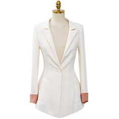 2016 Spring And Summer Long-Sleeved Slim Small Suit Swallowtail Big Yards Ladies Flounced Solid Color Jacket Clearance
