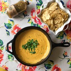 "Need a good idea for a party appetizer? Try this Green Chile Queso recipe from Colorado company The Real Dill. The highlight of this recipe is their Green Chile Hot Sauce, a great alternative to the other ""staple"" hot sauces to add zest to your meals."