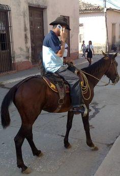 Modern cowboy in Trinidad city, Cuba Cuba Tours, Cuban People, Papi Chulo, West Indian, Gulf Of Mexico, Caribbean Sea, Cayman Islands, Atlantic Ocean, Latin America