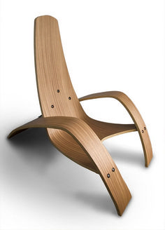 This cute best inspiration bent plywood lounge chair beach we think efficiently mixing smart chair design plan, superb design look, element variety, dominant typical of outline decoration and design idea organization. Funky Furniture, Plywood Furniture, Unique Furniture, Contemporary Furniture, Furniture Design, Plywood Chair, Furniture Removal, Bespoke Furniture, Furniture Ideas