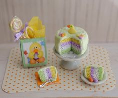 Miniature Easter Cake