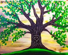 The Loving Tree - Wine & Canvas