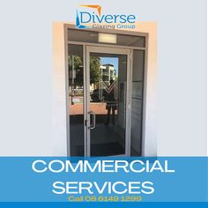 Check out this neat and quality office door that we installed!💯   Let us know what you think!☑️ . . . .  #glazing #offices #perth #glass #bathroom #need #glassperth #glassaustralia #homedesign #westernaustralia Commercial Windows, Glass Installation, Glass Repair, Glass Bathroom, Western Australia, Perth, Offices, Locker Storage, House Design