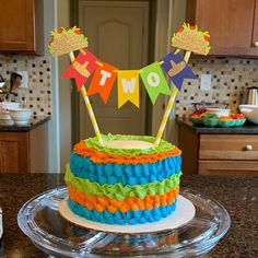 Your place to buy and sell all things handmade 2nd Birthday Boys, Cute Birthday Cakes, First Birthday Parties, Birthday Ideas, Fiesta Cake, Fiesta Theme Party, Taco Bar Party, Taco Cake, Fiesta Decorations