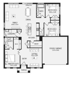 images about House Plan  I    m crazy about plans on Pinterest    Lancaster  New Home Floor Plans  Interactive House Plans   Metricon Homes   NSW