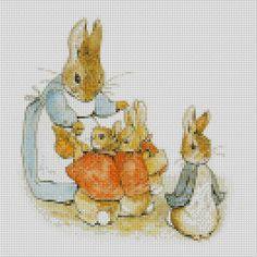 peter rabbit cross stitch