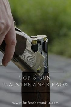 Not only will regularly caring for your gun help to keep in it pristine condition but it will also ensure that no damage is being done while you are storing it away. Shooting Equipment, Nook And Cranny, Hunting Gear, Cleaning Kit, Me Clean, Country Life, Guns, Top, Weapons Guns