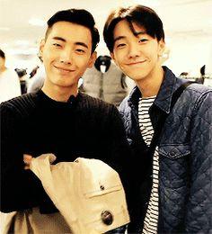Shon Minho & Nam Yoonsoo