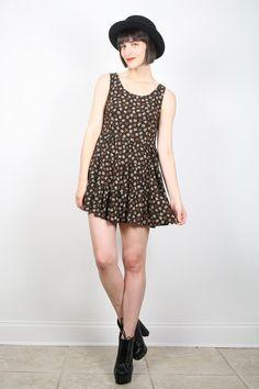 Vintage Grunge Dress 1990s Dress 90s Dress by ShopTwitchVintage