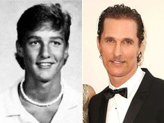 Matthew McConaugheyIt's Matthew McConaughey! Pictured in 1986, as a sophomore at Longview High School in Longview, Tex., he was voted Most Handsome in the school yearbook.
