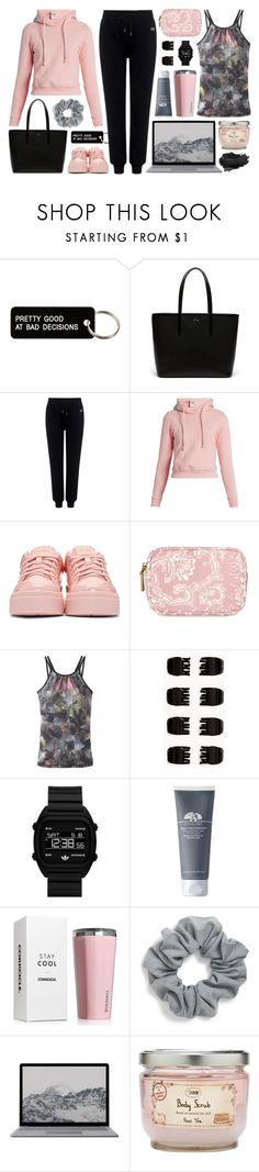 """""""[356] pretty good"""" by yuuurei ❤ liked on Polyvore featuring Various Projects, Lacoste, McQ by Alexander McQueen, Vetements, Kenzo, prAna, Forever 21, adidas Originals, Origins and Corkcicle"""