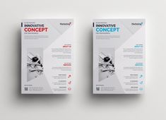 Innovative Clean Professional Corporate Flyer Template 2