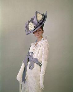 hats, costum, cecil beaton, vintage fashion photography, dress, audrey hepburn, style icons, audreyhepburn, vintage style