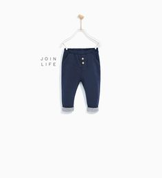 HAREM TROUSERS-LEGGINGS AND TROUSERS-BABY GIRL | 3 months - 4 years-KIDS | ZARA United States