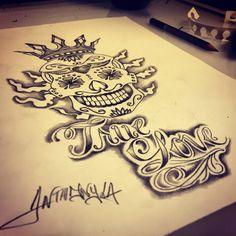 #draw #dessin  #flowers #sketch #ink #inked #tattoo #tatouage #arts #tattooarts #ideetattouage #france #lille #girl #girltattoo #boy #boytattoo #skull #tetedemortmexicaine #mexicanskull #sugarskull #crown