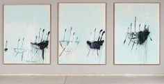 Cy Twombly (United States of America, Italy Title Three studies from the Temeraire Year Media category Painting Materials used oil on canvas (triptych) Dimensions a) x x frame b) x x frame c) x x frame Cy Twombly Art, Triptych Art, Minimalist Painting, Art Abstrait, 2d Art, Painting & Drawing, Claes Oldenburg, Jasper Johns, Roy Lichtenstein