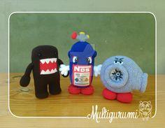 Turbo-Domo-Nitro Amigurumi Dolls by Multigurumi.deviantart.com on @DeviantArt