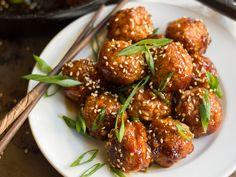 Teriyaki Tempeh Meatballs (vegan)