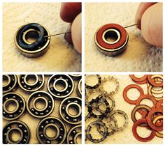 You'll want to clean your bearings when they become noisy or dirty, or about every 3 months if you are skating regularly. Here's how I do it (which is by no means the definitive way) Read Retro Roller Skates, Roller Derby Girls, Quad Roller Skates, Skate Bearings, Skateboard Bearings, Skateboard Design, Skateboard Art, Bike Rollers, Roller Skating
