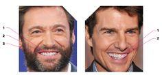 Hugh Jackman vs. Tom Cruise: Can You Spot the Fake Smile?