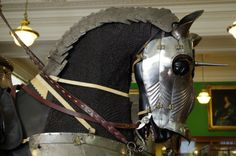 Medieval horse armour The Wallace Collection