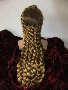 Emperess Elisabeth, Sisi hairpiece, hairdo, sissi ...
