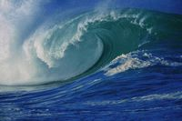 Wave technology for producing energy using surface pressure